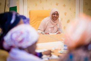 Aisha Buhari with Bbbc Hausa