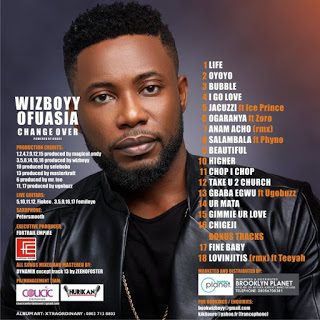 Wizboyy unveils tracklist