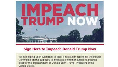 Donald trump impeachment launched