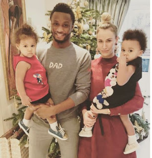 Mikel obi and his family