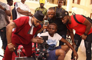 bts photos kcee - we go party