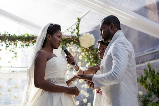 Stephanie linus celebrates husband on 5th wedding anniversary