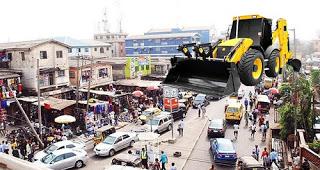 Lagos state Govt begins demolition of shops at computer village