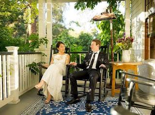 Facebook ceo Mark zuckerberg and wife,  celebrates 5th wedding anniversay