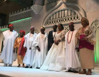 photos from olusegun obasanjo's son's wedding