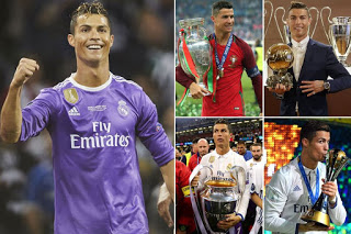 10 major achievements by cristiano ronaldo in the last 365 days after bchampiosn league win
