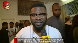 """""""Stop glorifying fraud with your music, It Is Killing Our Future"""" - Falz"""