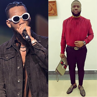 You live and die for gucci, i live and die for people - phyno replies Hushpuppi