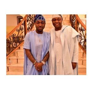 business tycoon Adedeji Adeleke & Davido