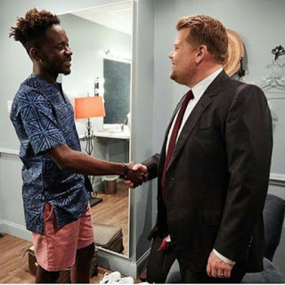 Mr eazi make history as first Nigerian to perform on the U.S. talk show late late show with James Corden