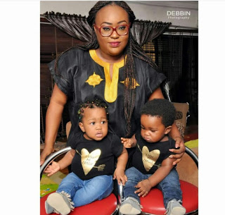 Check Out Six Nigerian Celebrities You Probably Don't Know Have Twin Children
