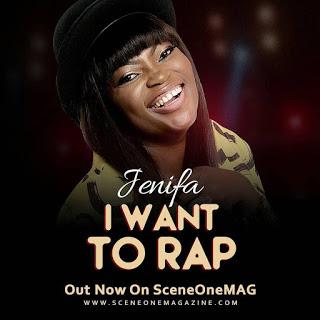 """Funke Akindele's Jenifa first ever single """"I Want Rap"""""""