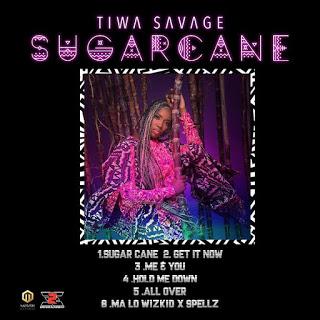 """Tiwa Savage Unveils Tracklist For Ep """"Sugarcane"""", Features Wizkid"""
