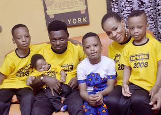 Kunle Afod Celebrate Son's Birthday With Lovely Photos