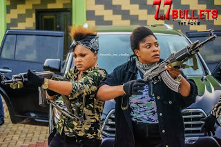 """See Photos From Mercy Aigbe's Upcoming Movie """"77 Bullets"""""""