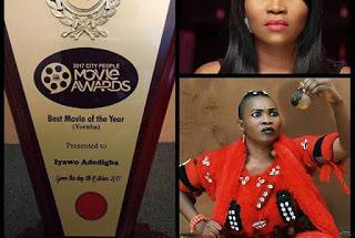"Yewande Adekoya's ""Iyawo Adedigba"" Named As Movie Of The Year"