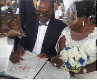 Actor, Emeka Ossai And Wife Celebbrates 10th Wedding Anniversary (Pictures)