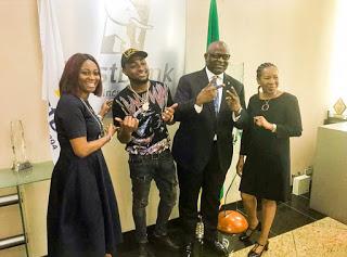 DMW Boss, Davido Lands Deal With First Bank Nigeria (Photo)