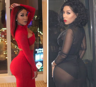 Singer, K Michelle Express Regrets Over Butt Implants