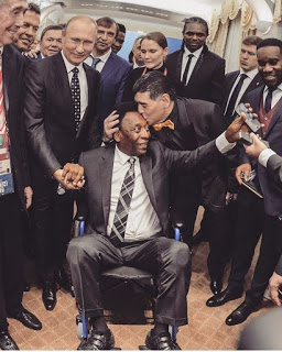 Pictures Of Pele On A Wheel Chair