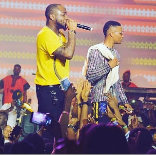 Watch As Wizkid And Davido Performed 'FIA' On Stage Together