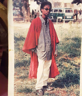 Denrele Edun Shares Inpiring Story With ThrowBack Photo