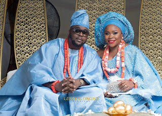 Photos From Singer, Omawunmi's Traditional Wedding In Warri