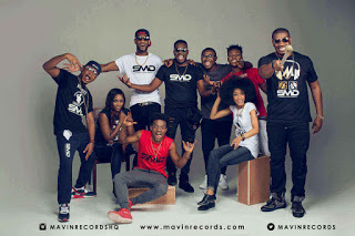 Don Jazzy and his Mavin crew members pictures