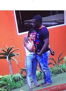 BB Naija 2018: Bitto Gets An Erection While Comforting Nina