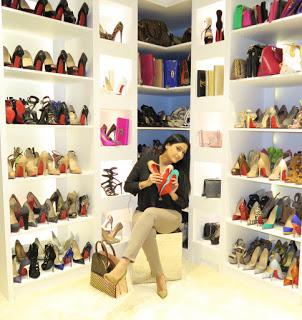 Soanl Maherali shoe closet pictures