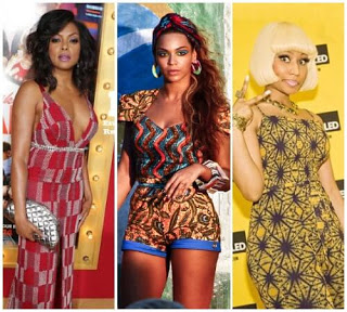 11 American Celebrities In Different Ankara Dress Style