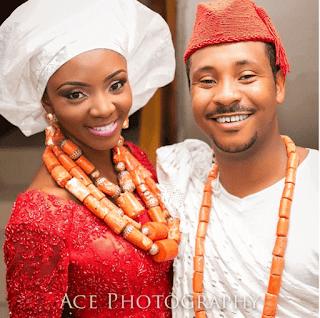 Ivie Okujaye wedding pictures