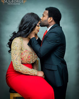 Actor Gabriel Afolayan Is Set To Marry - See Pre-Wedding Photos