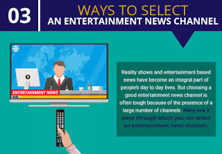 Infographic: 3 Ways To Select An Entertainment News Channel