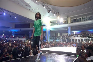 Watch J. Cole Live In Lagos Full Performance