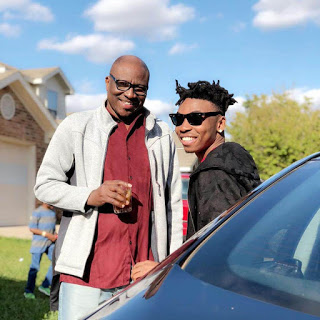 Singer, Mayorkun Reunites With His Father After 2 Years