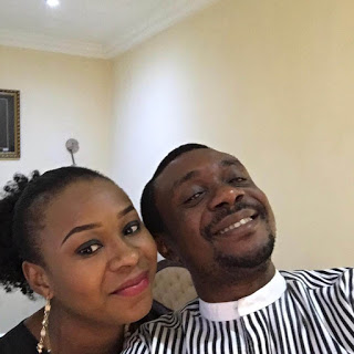 Nathaniel Bassey and wife picture
