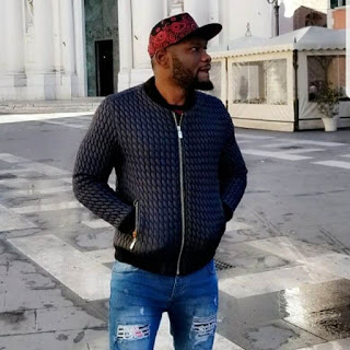 Prince David Osei pictured on the street