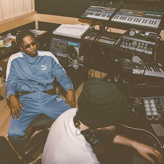Runtown in the studio pictures