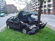 Vehicle insurance - Car accident