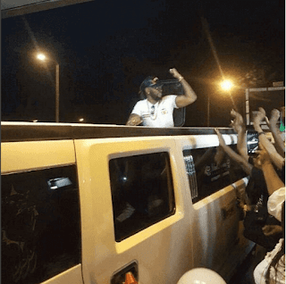 BBNaija 2018: Watch As Teddy A And Bambam Gets A Royal Welcome At The Airport