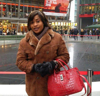 Aishat Abimbola pictured in Abroad