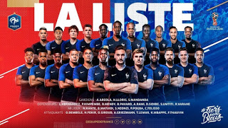 France World Cup 2018 Squad & Possible Starting Line-Up