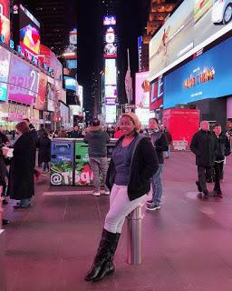 Hadiza Aliyu Gabon in New York pictures