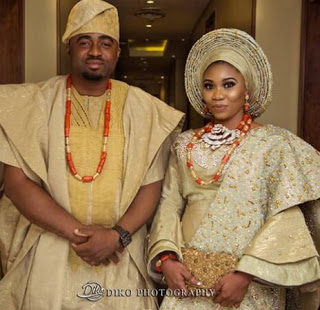 Wunmi Toriola marriage photo