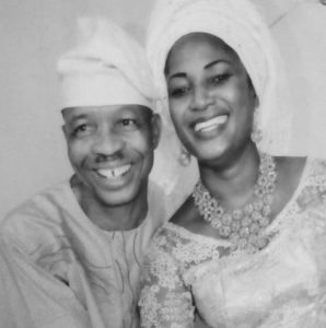 Afeez Oyetoro and his wife