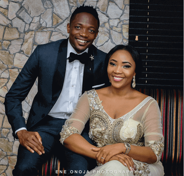 Ahmed Musa and Juliet wedding pictures