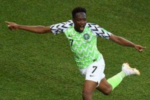 Ahmed Musa net brace as Nigeria beat Iceland