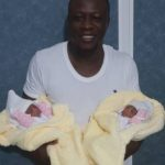 Chuddy K welcomes set of twins