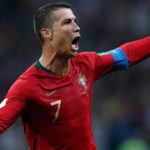 Cristiano hat trick against spain